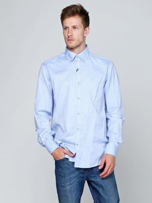 Рубашка голубая | 5316514