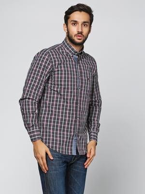 Рубашка комбинированной расцветки | 5316518