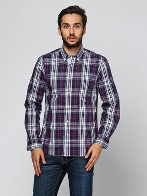 Рубашка комбинированной расцветки | 5316519
