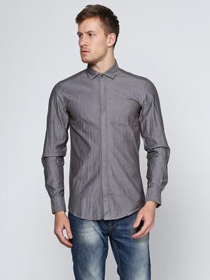 Рубашка серая | 5316530