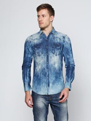 Рубашка синяя | 5316532