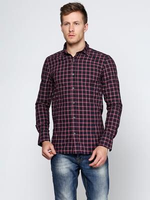 Рубашка комбинированной расцветки | 5316538