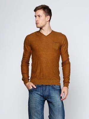 Пуловер коричневий   5316559