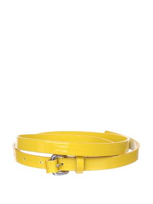 Ремень желтый | 5316579
