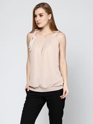 Блуза цвета пудры | 5316589