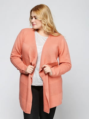 Кардиган персикового цвета | 5316598