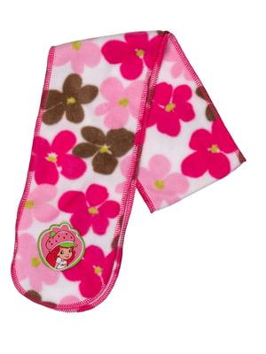 Шарф біло-рожевий   5306443