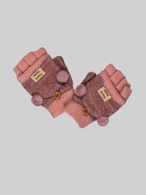 Перчатки розовые | 4808956