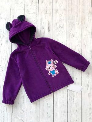 Толстовка фіолетова | 5316705