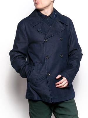 Пальто синє   5311942