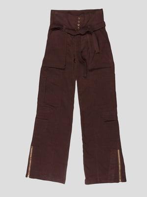Штани коричневі | 5243943