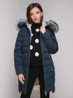Куртка бірюзова | 5307028