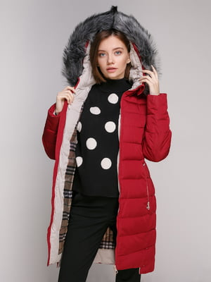 Куртка бордова | 5307029