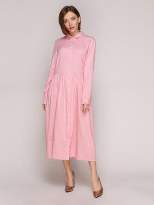 Платье розовое | 5271257