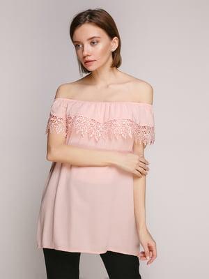 Блуза пудрового цвета | 4529449