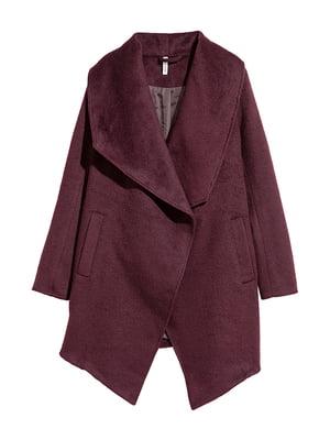 Пальто бордове | 5317213