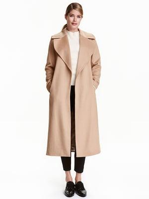 Пальто бежевое | 5317245