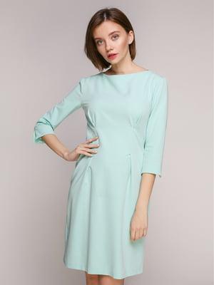 Платье ментолового цвета - Alore - 5246321
