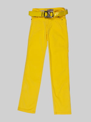 Брюки желтые | 5244134