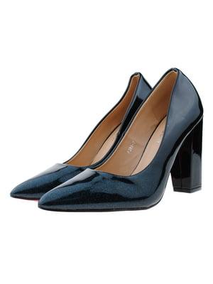 Туфли сине-черные | 5312832