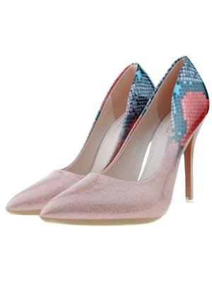 Туфли розово-синие | 5316000