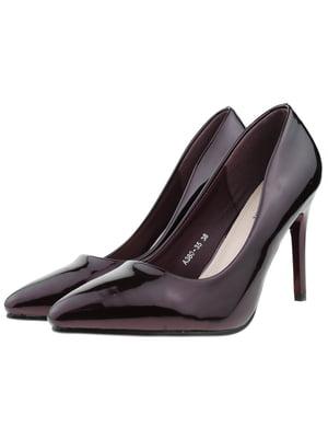 Туфли бордовые | 5316028