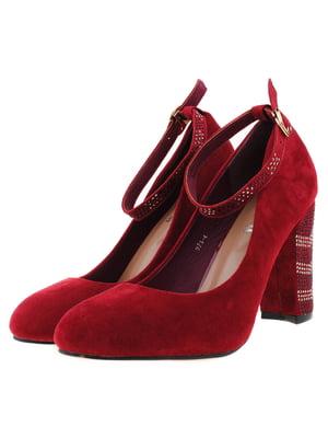 Туфли бордовые   5316056