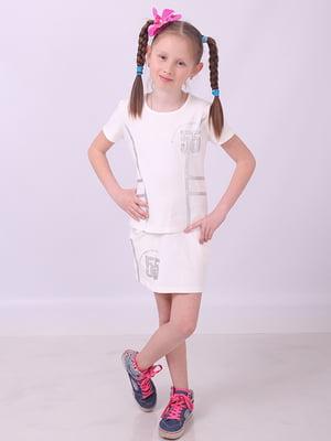 Костюм спортивный: футболка и юбка | 5318507