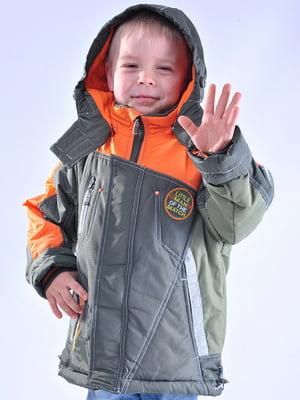 Куртка цвета хаки   5318542