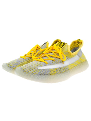 Кроссовки желто-серые   5317641