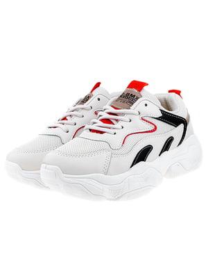 Кросівки бежево-чорні | 5318559
