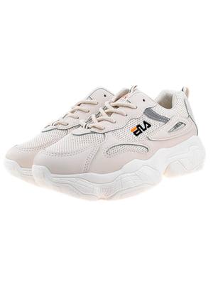Кросівки бежево-сірі | 5318576