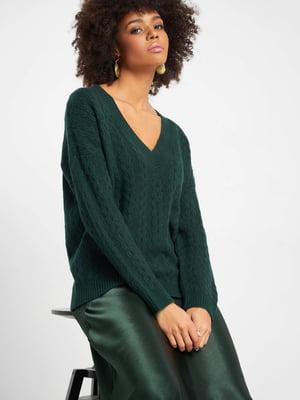 Пуловер зелений | 5318649