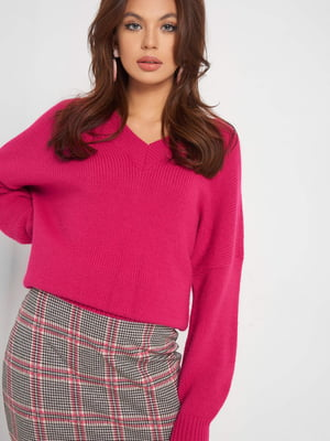 Пуловер рожевий | 5318720