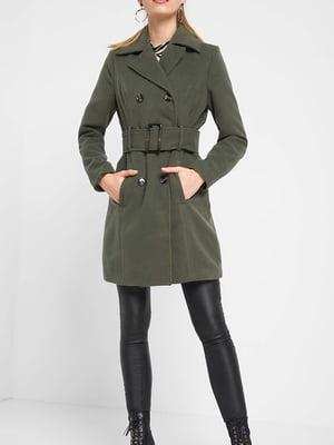 Пальто цвета хаки | 5318772