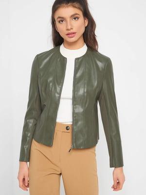 Куртка оливкового кольору | 5318795