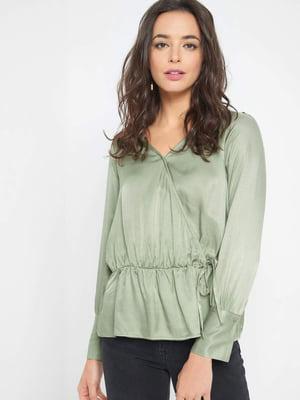 Блуза світло-зелена | 5318812