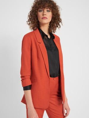 Жакет оранжевого цвета | 5318847