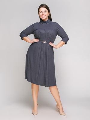 Сукня графітового кольору | 5308860