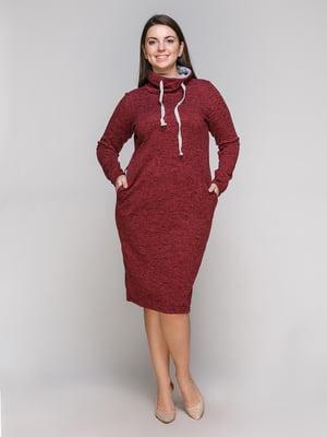 Сукня бордова | 5308828