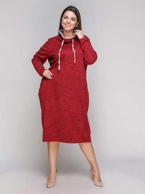 Сукня бордова | 5308823