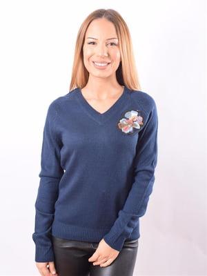 Пуловер синій | 5318036