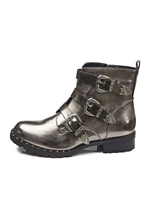 Ботинки серебристые   5319161