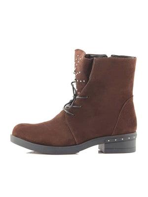 Черевики коричневі | 5319229