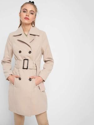 Пальто бежевое | 5319329