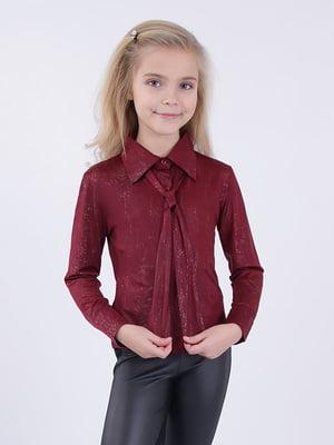 Комплект: блуза і краватка | 5318551