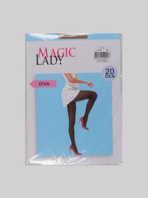 Колготки кольору засмаги - Magic Lady - 4877022