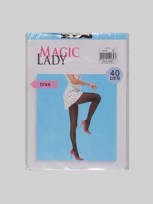 Колготки черные - Magic Lady - 4785817