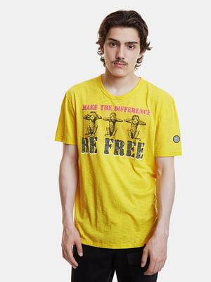 Футболка жовта | 5319558