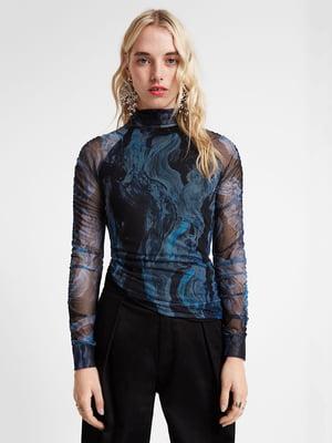 Блуза з принтом | 5319573